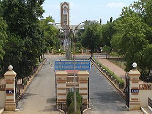 M.Sc Admission at NIT, Tiruchirappalli