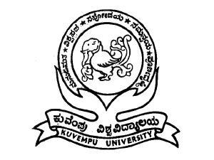 M.Tech Admission at Kuvempu University