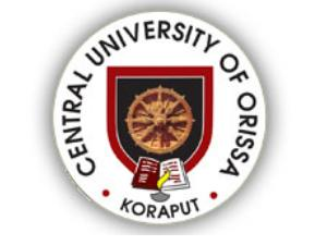 M.A & M.Sc Admission at CU, Orissa