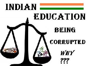 Corruption Decays Education Sector