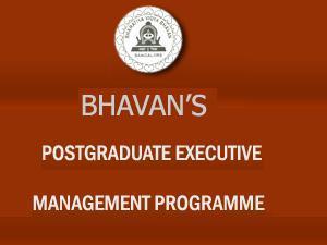 Bhavan's 1 Year Post Graduate Programme