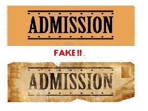 Students Found With Fake Admissions