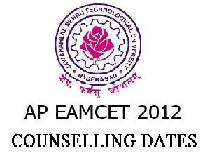 EAMCET 2012 Medical Counseling Dates