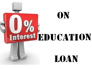Interest Free Education Loans In India