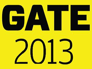 GATE 2013 dates are announced