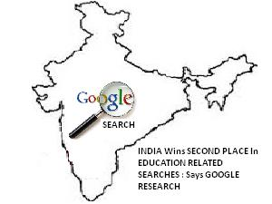India Top 2nd In Education Google Search