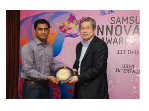IIT's Top At Samsung Innovation Awards