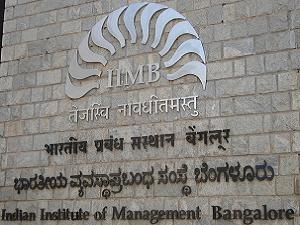 Fellow Prohgramme in Mgmt at IIM B'lore