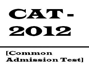CAT 2012 Registration Ends On 19 Sept