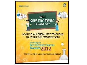 Best Chemistry Teacher Awards 2012