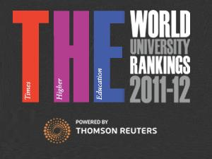 Universities Global Rankings 2012