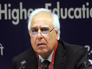 Sibal Slams on Foreign Education Bill
