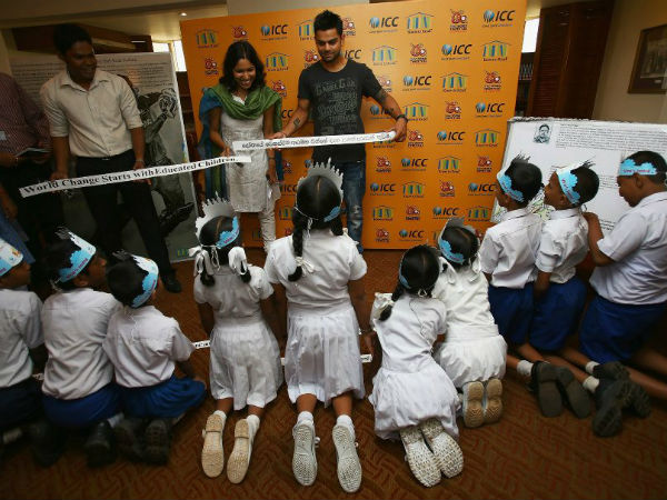 Virat Kohli Launched Book for Children's