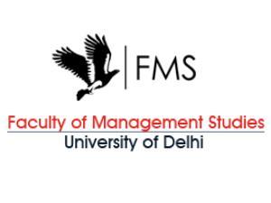 MBA & Ph.D Admission at FMS, Delhi Univ