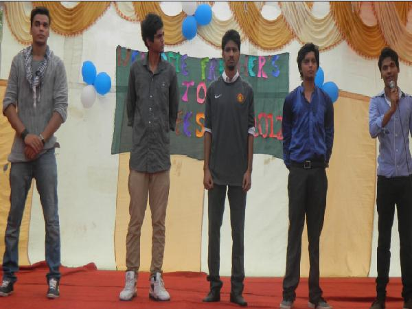 Freshers Party Dress Freshers Party Organised at