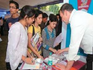 Students Gather At Foreign EducationFair