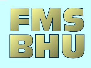 MBA Admission at FMS, Banaras Hindu Univ