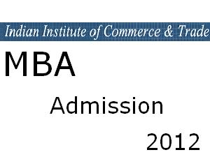MBA Program Admission at IICT, Lucknow