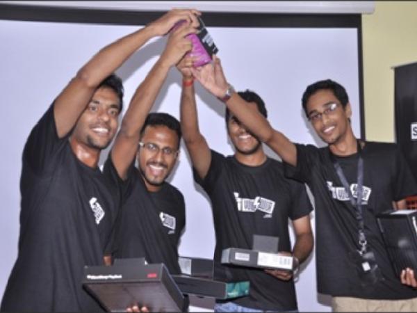 Kerala Students Win BlackBerry JamHack