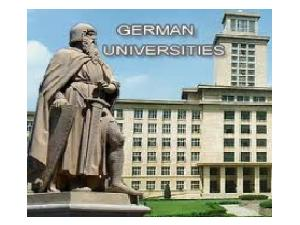 German Universities Not Charging Fees