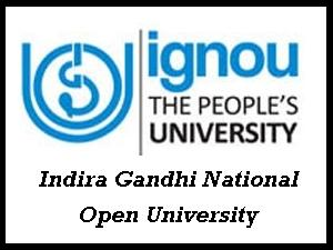 IGNOU Admissions For January 2013