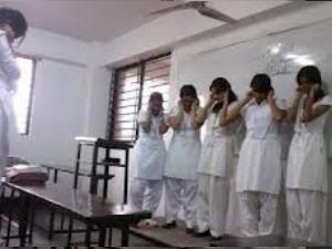 Four Class 12 Girls Punished By Teacher