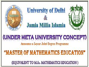 JMI & DU Jointly Announce M.Sc Program