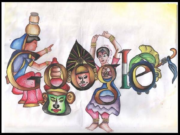 Google Doodles By Indian Students