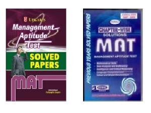 Reference Books & Solved Papers For MAT