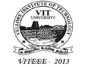 Exam Syllabus For VITEEE 2013