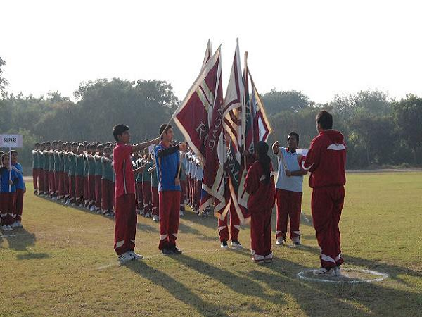 Annual Athletics Meet at Sagar School