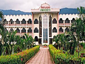 PG admission at Karunya University