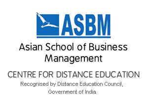 Distance PGDM Admission at ASBM-CDE