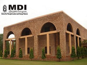 MDI Gurgaon PG Programme in PPM Admission 2013
