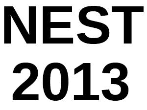 IISER Conduct NEST 2013 on May 25