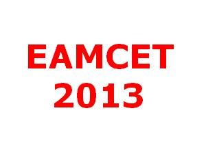 EAMCET 2013 will be conducted on 12 May