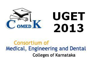 COMEDK UGET2013 test to be held on 12May
