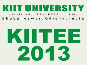 KIIT University KIITEE2013 online application form