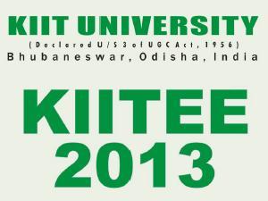 KIITEE 2013 online application form