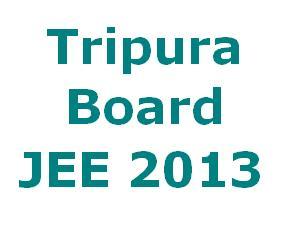 TBJEE 2013 Online Registration form