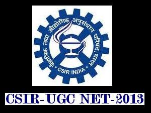 Joint CSIR UGC NET 2013 Notification