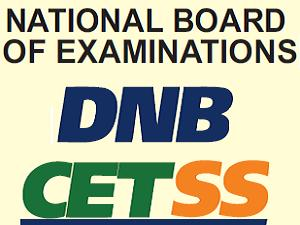 Rank letter for DNB CET SS Counseling