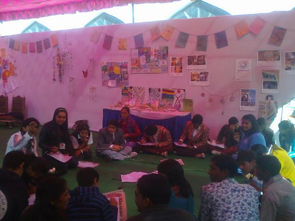 SagarSchool represent at Literature Fest