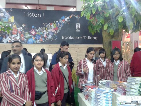 Sagarian bibliophiles at World Book Fair
