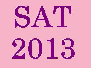 SAT 2013 results to be declared on 14Feb