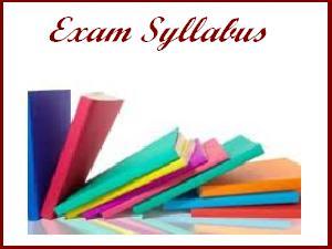 KAS 2013 Physics Exam Syllabus