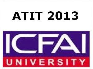 ATIT 2013 on May 05 By ICFAI University
