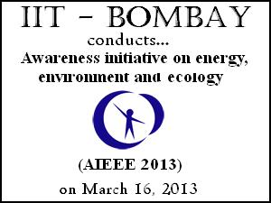 ESEA-IIT Bombay Holds AIEEE On 16 March