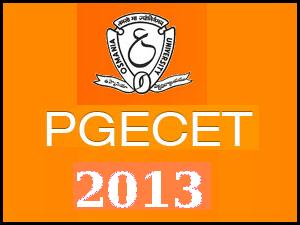 AP PGECET 2013 Notification