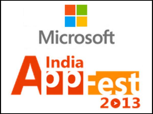 Indian IT Students At Microsoft App Fest